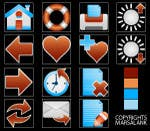 Proposition n°                                        17                                      du concours                                         Icon or Button Design for I4 Web Browser Icons