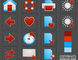 #11 for Icon or Button Design for I4 Web Browser Icons af marsalank