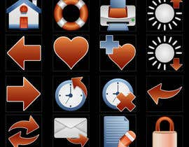 #30 for Icon or Button Design for I4 Web Browser Icons af marsalank