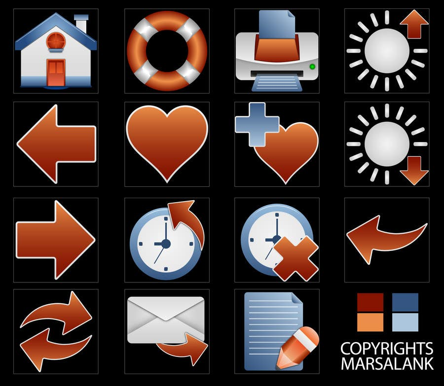 Proposition n°                                        22                                      du concours                                         Icon or Button Design for I4 Web Browser Icons