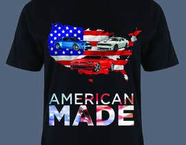 #11 for American Made Muscle Cars Tee Shirts by akmalhossen