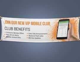 "#9 , Website VIP ""text club"" banner design 来自 Prohalla"