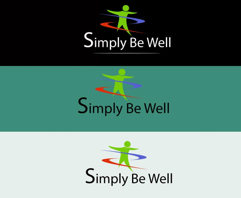 "Penyertaan Peraduan #6 untuk Logo Design for Corporate Wellness Business called ""Simply Be Well"""