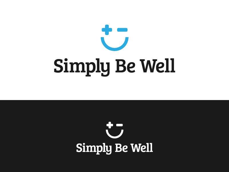"""Penyertaan Peraduan #82 untuk Logo Design for Corporate Wellness Business called """"Simply Be Well"""""""