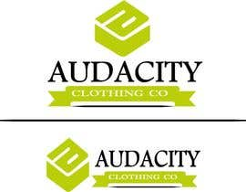 #16 for My brand is called AUDACITY CLOTHING CO this is a logo i already have create me something that uses this logo and font by zinabfathy666