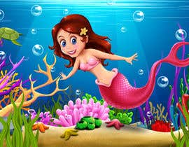 #19 para Mermaid for children's party theme, commercial use de lookandfeel2016