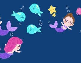 #3 para Mermaid for children's party theme, commercial use de SnOwDsign1
