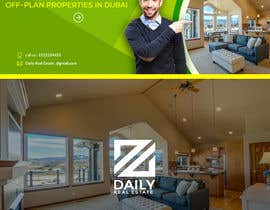 #14 for design a logo and facebook cover photo for a real estate agent in Dubai by stylomj