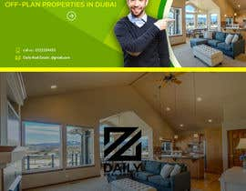 #15 for design a logo and facebook cover photo for a real estate agent in Dubai by stylomj