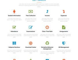 nº 14 pour Design 1 Page site and login area par mashukmak