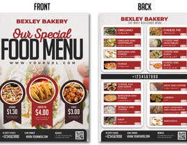 #20 for Food Menu Flyer & Business Card by graphicshero