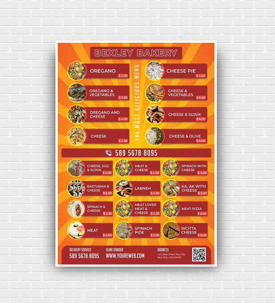 Bài tham dự cuộc thi #23 cho Food Menu Flyer & Business Card