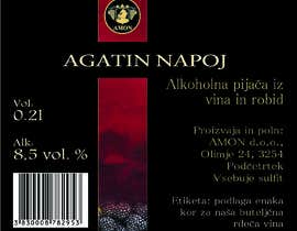 #46 para Design a label for Blackberry wine por ntmai