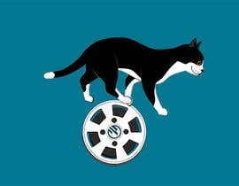 #31 for 10-20 second video of cat rolling a movie reel needed by harool