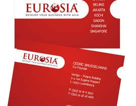 #13 para Business Card Design for www.eurosia.eu por pdm2009