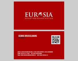 nº 59 pour Business Card Design for www.eurosia.eu par milanche037