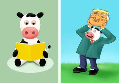 İzleyenin görüntüsü                             Funny Illustrations - 2cows