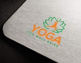 nº 302 pour Yoga for well being Logo Design par imcopa