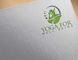 #86 para Yoga for well being Logo Design por Lucky0018