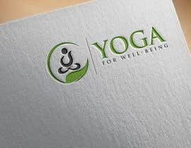 #176 para Yoga for well being Logo Design por jakir10hamid