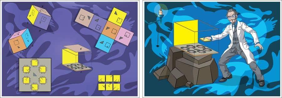 Cartoons Doing Escape Room