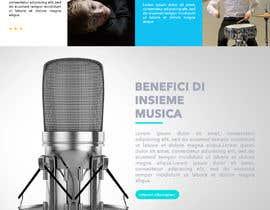 Nro 33 kilpailuun Music School Branding and website käyttäjältä jhoannaleegarcia