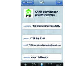 Design Some Business Cards For PhD International Marketing