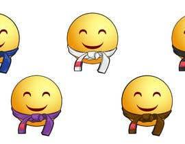 #22 for Emoji wearing Jiu-Jitsu Belt. by YousraElhadi