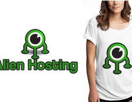 #122 para Logo Design for Alien Hosting por designerartist