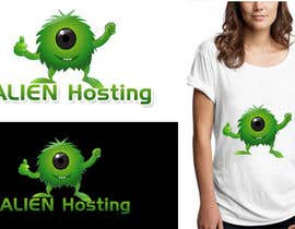 nº 123 pour Logo Design for Alien Hosting par designerartist