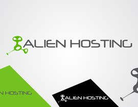 #119 para Logo Design for Alien Hosting por taganherbord