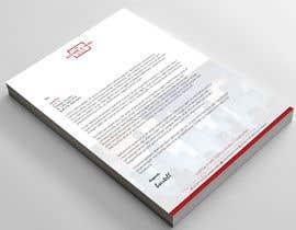 Nro 22 kilpailuun Letterhead Design käyttäjältä ak9659980