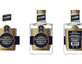#30 for Label for an exclusive hazelnut liqueur by anshalahmed17