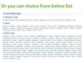 #20 dla Suggest a name for a company przez rehanaakter895