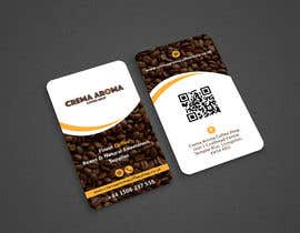 #127 for Business Card for Crema Aroma Coffee Shop by Shariquenaz