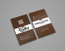 #188 for Business Card for Crema Aroma Coffee Shop by lubnakhan6969