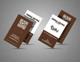 #191 for Business Card for Crema Aroma Coffee Shop by lubnakhan6969