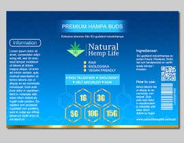 #4 for Product label for a CBD/health company by Fantasygraph