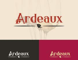 #272 for Logo design for wine & beer accessories brand - ARDEAUX by graphidesginer