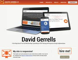 #55 para Logo Design for David Gerrells Web por dyymonn
