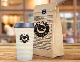 #112 for Design our coffee bag for printing - Quaff Coffee by KazuLyne