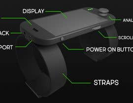 #8 para Futuristic Wrist Mounted Computer Wearable for Action Sports por Alander787