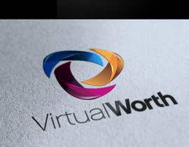 #96 para Logo Design for Virtual Worth por marcopollolx