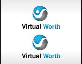 #120 untuk Logo Design for Virtual Worth oleh OneTeN110