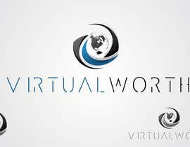 #132 para Logo Design for Virtual Worth por taganherbord