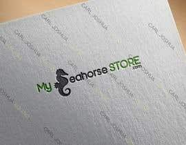 nº 21 pour Seahorse Mart Logo Design par Sheuwa