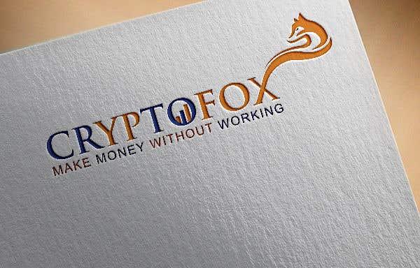 Contest Entry #59 for Bitte entwerfen sie ein modernes, ansprechendes Logo. Bitte orientieren Sie sich an den verschiedenen Entwürfen in der Anlage. Das Wort (CRYPTOFOX) und der Slogen (make money without working) sollten Bestandteil des Logos sein.