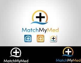 #39 para Logo Design for Match My Med por logodancer