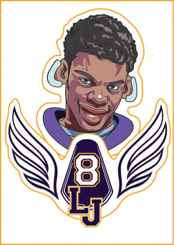 Konkurrenceindlæg #23 for Lamar Jackson 8 Logo Tshirt