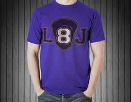 #5 for Lamar Jackson 8 Logo Tshirt af Towhid47